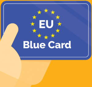 EU blue card through Hungary