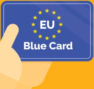 EU blue card through Hungary
