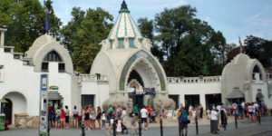 Entrance to Budapest Zoo